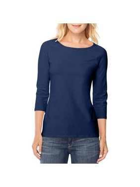 bd822fbe1ff Product Image Women s Stretch Cotton Raglan 3 4-Sleeve Tee