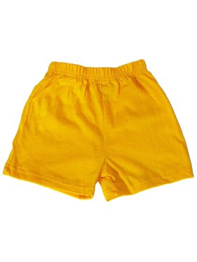 Basic Editions - Little Girls Jersey Knit Gym Shorts Banana / 4T