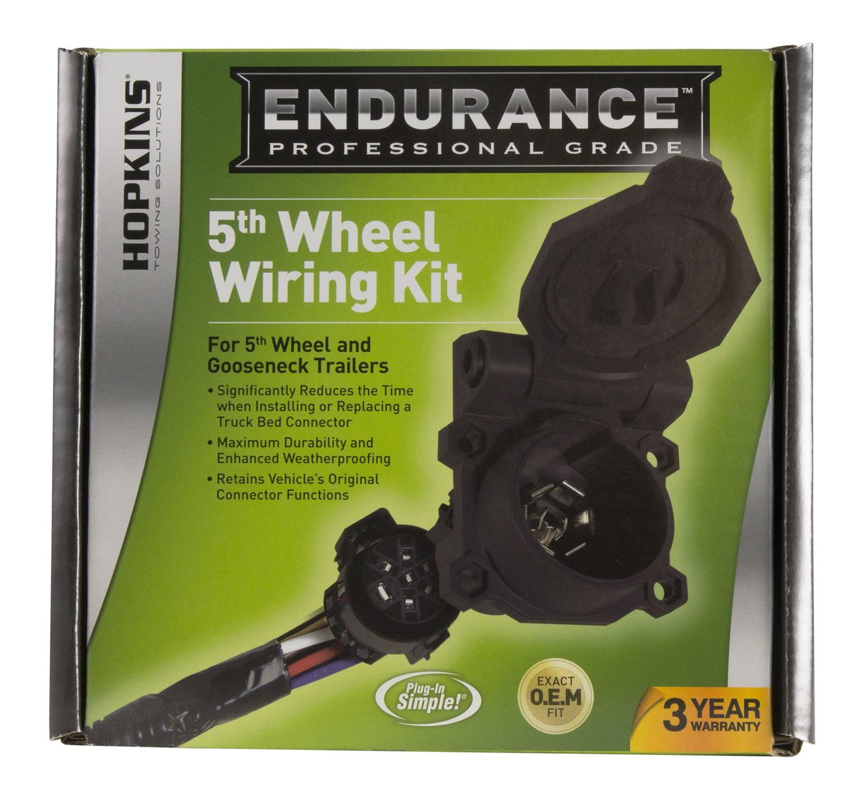 hopkins 90 degree 5th wheel wiring kit, ford gm walmart comFifth Wheel Wiring Harness #16