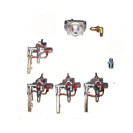 Grill Conversion (BBQ Grill  Bull Conversion Kit LP To NAT 12469 OEM - Default)