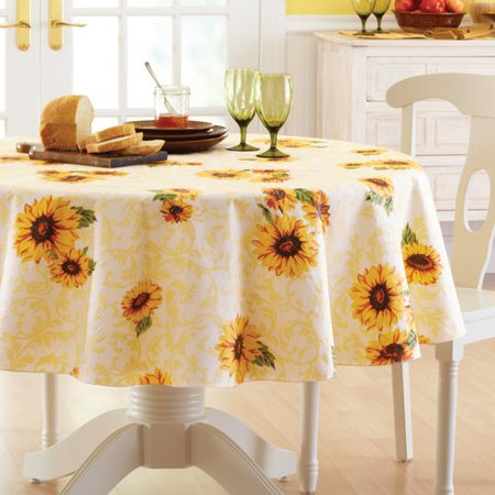Better Homes And Gardens Sunflower Tablecloth
