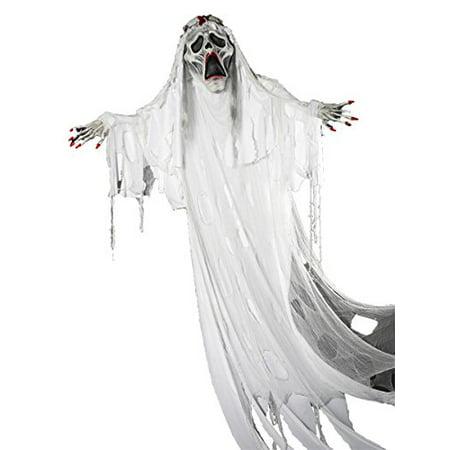 12' Ghost Bride Prop