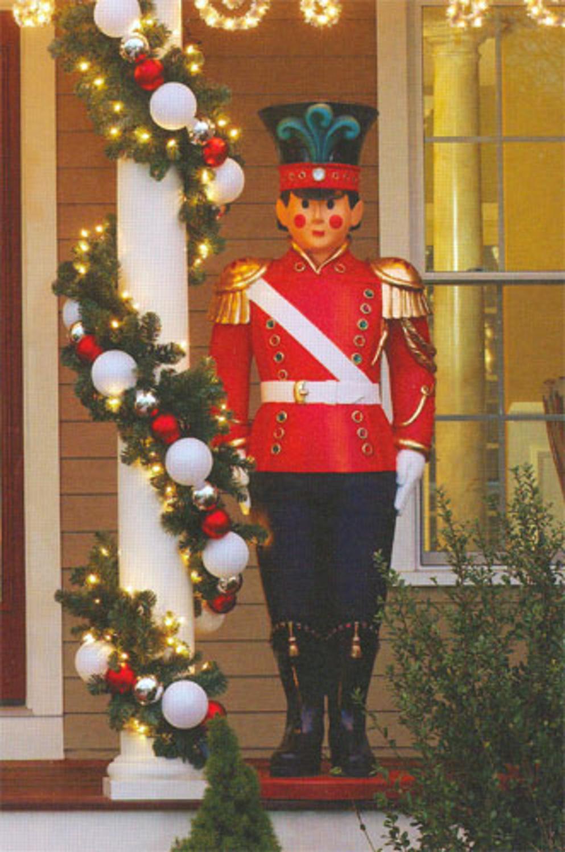Giant Commercial Grade Fiberglass Toy Soldier Christmas Decoration Display 6' - Walmart.com