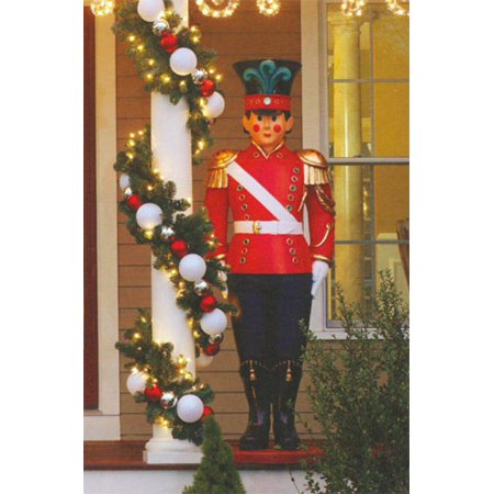 giant commercial grade fiberglass toy soldier christmas decoration display 6