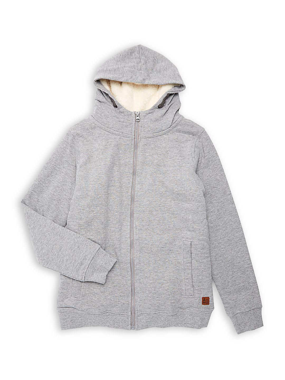 Boy's Zip Hoodie