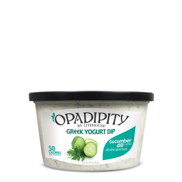 Opadipity by Litehouse Cucumber Dill Greek Yogurt Dip Tub, 12 oz.
