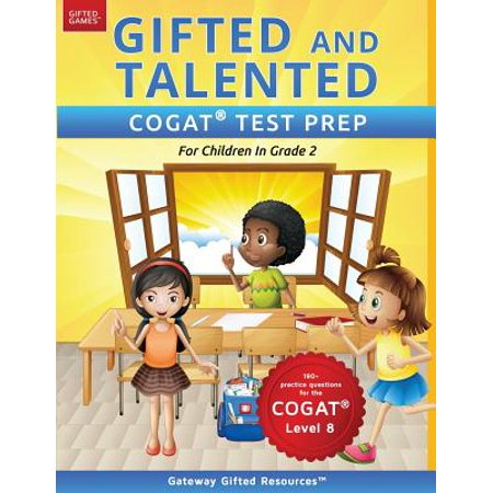 Gifted and Talented Cogat Test Prep Grade 2 : Gifted Test Prep Book for the Cogat Level 8; Workbook for Children in Grade 2 - Level 8 100 Floors Halloween