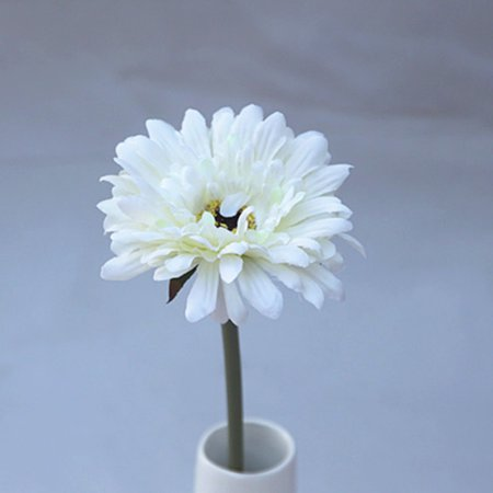 10 Pcs Single Head Silk Artificial Gerbera Daisy Flower Bouquet Wedding Party Home Decor New