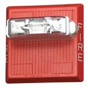 WHEELOCK CN121073 Waterproof Multitone Horn,24VDC,Red