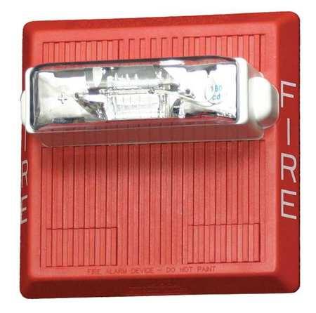 WHEELOCK CN121073 Waterproof Multitone Horn, 24VDC, Red
