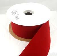 """Embassy Berry Velvet Christmas Ribbon 2 1/2"""" or #40 25 Yards"""