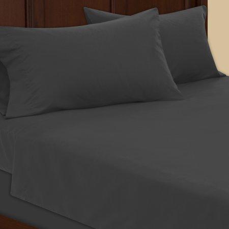 Mainstays Microfiber Bed Sheet Set, 1 (Pink Note Sheets)