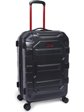"""Coleman Artillery 24"""" Hard side Luggage, Charcoal"""