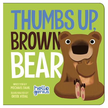 Thumbs Up Brown Bear (Board Book) - Brown Bear Brown Bear Book