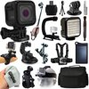 GoPro HERO5 Session HD Action Camera (CHDHS-501) + Everything You Need 18 Piece Accessories Bundle includes Selfie Stick + Opteka X-Grip + Travel Case + Solar Charger + Head/Chest Strap + More!