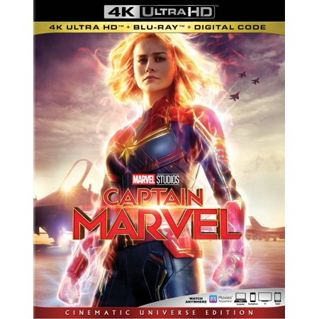 Captain Marvel (4K Ultra HD + Blu-ray + Digital) - 1990 Captain America Movie