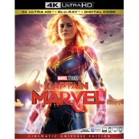 Captain Marvel (4K Ultra HD + Blu-ray + Digital)