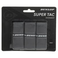 Super Tac Tennis Overgrip 3 Pack Black