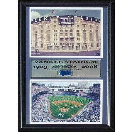 Yankee Stadium Musical Globe - MLB Yankee Stadium Game Used Frame, 12x18
