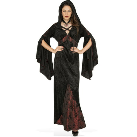 Dark Damsel Women Victorian Gothic Vampire Witch Halloween Costume](Gothic Victorian Halloween Decorations)