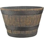 Mintcraft 20In Cast Stone Whiskey Barrel PT-030 Pack Of 4