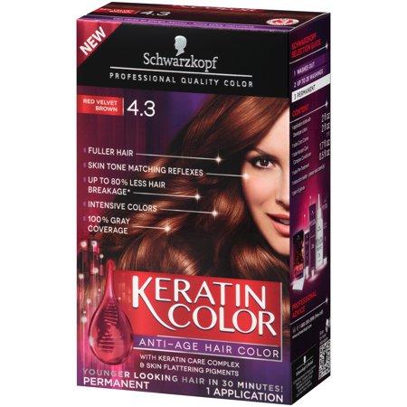 Schwarzkopf Keratin Color Anti Age Hair Color Kit Reviews