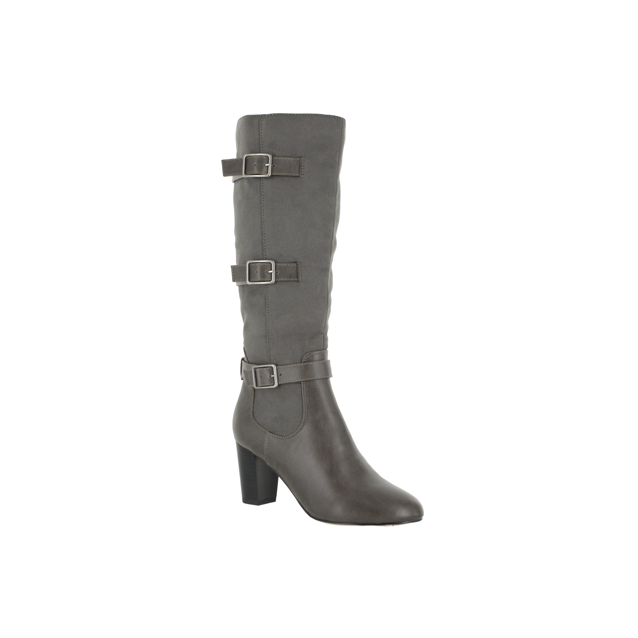 Bella Vita Women's Talina II Grey Suede Tall Boots by Overstock