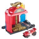 Hot Wheels City Downtown Fire Station Spinout Play Set
