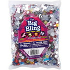 Darice The Big Bling Butterflies, Dragonflies, And Round Rhinestone Value Pack