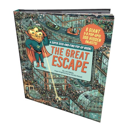 The Great Escape : A Super Seek-and-Find Pop-Up Book!