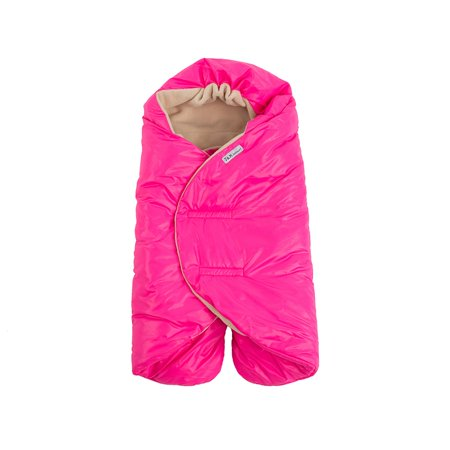 7 Am Enfant Nido Quilted Car Seat Baby Wrap Large Neon Pink L