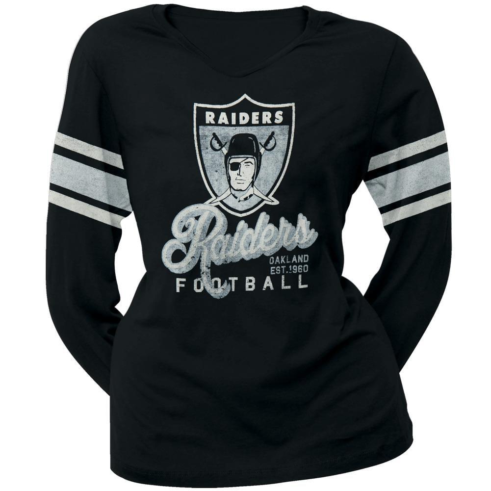 Oakland Raiders - Homerun Premium Juniors Long Sleeve T-Shirt - X-Large