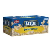 Product of Act II Butter Lovers Popcorn, 30 ct.