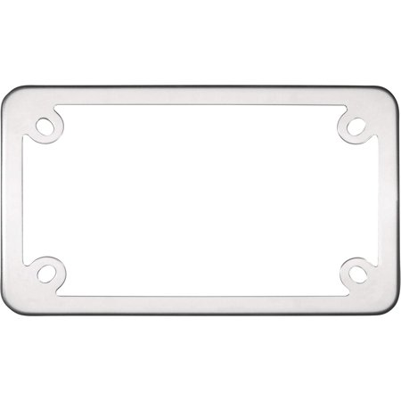 - Cruiser Accessories 77000 MC Elite Motorcycle License Plate Frame, Stainless Steel