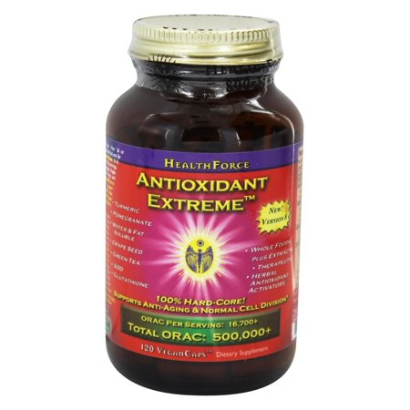 HealthForce Nutritionals - Acai Resveratrol Ultimate ORAC Antioxidant Extreme - 120 Vegetarian Capsules