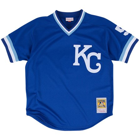 George Brett Kansas City Royals Mitchell & Ness Authentic 1989 BP Jersey by