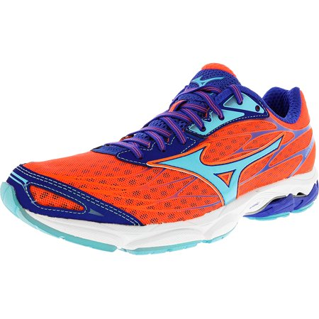 93f2a2877f Mizuno - Mizuno Women's Wave Catalyst Orange / Light Blue Ankle-High  Running Shoe - 11M - Walmart.com