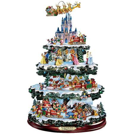 Wonderful World Of Disney Christmas Tree 50 Characters Mickey, Poo, Donald + ()