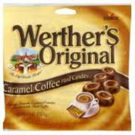 Werthers Original Caramel Coffee Swirl Hard Candies 12 pack (5.5oz per pack) (Pack of 2)