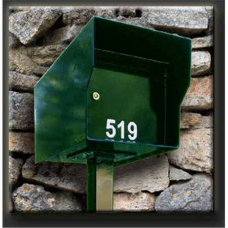 Fort Knox M1-LT G Mailbox, Gray