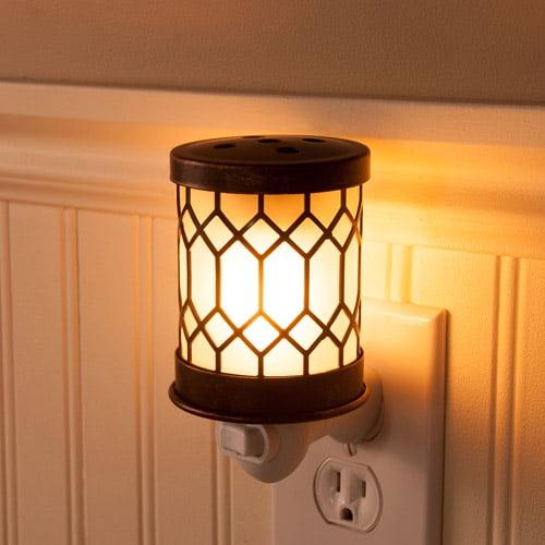 ScentSationals Accent Wax Warmer, Bronze Lantern
