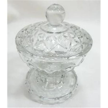 Grape Candy Dish (Leeber 8511 Crystal Candy)