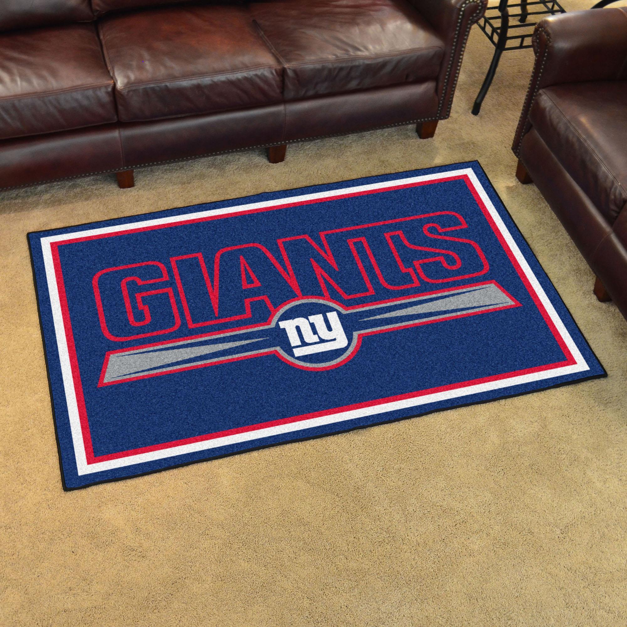 New York Giants Area Rug - 4'x6'
