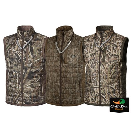 Synthetic Fill Jackets (Drake MST Synthetic Down Packable 2-Tone Vest BOT)
