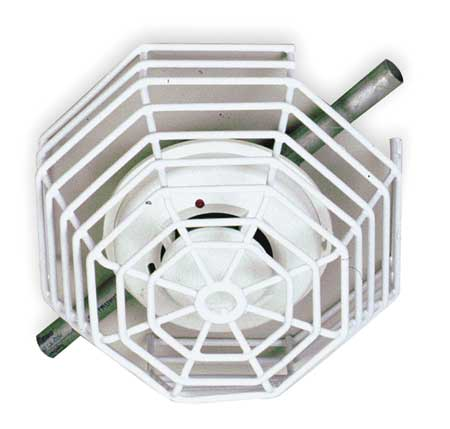 Safety Technology International STI-9602 Steel Wire Smoke Detector Guard, Surface