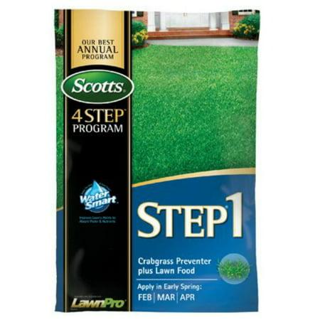 Scotts 39181 Step 1 Crabgrass Preventer Plus Fertilizer, -