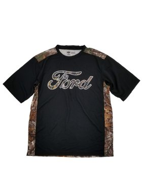 ad48899533e642 Product Image Ford Mens Black Realtree Xtra Camouflage Poly Tee Camo T-Shirt  Large