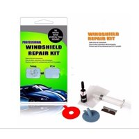 Windshield Repair Tool Car Auto Kit Glass For Chip & Crack Fix your Windscreen Do It Yourself