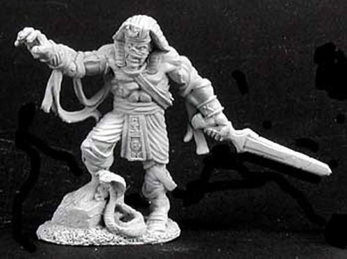 Reaper Miniatures Dark Lord Logar #02180 Dark Heaven Legends Unpainted Metal