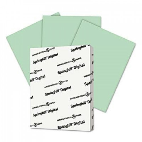 "Springhill - 3 Pack - Digital Index Color Card Stock 90 Lb 8 1/2 X 11 Green 250 Sheets/Pack ""Product Category: Paper & Printable Media/Cards & Card Stock"""